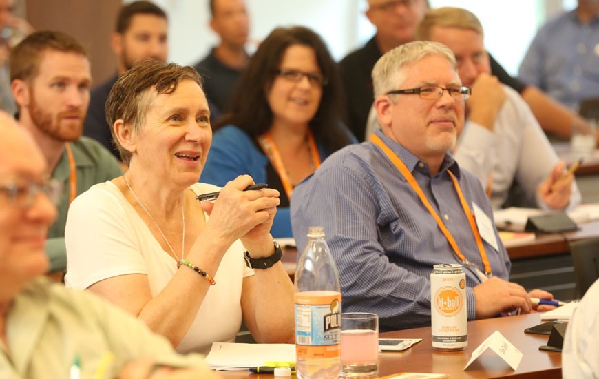 Attendees take in pre-conference training at Discovery Summit